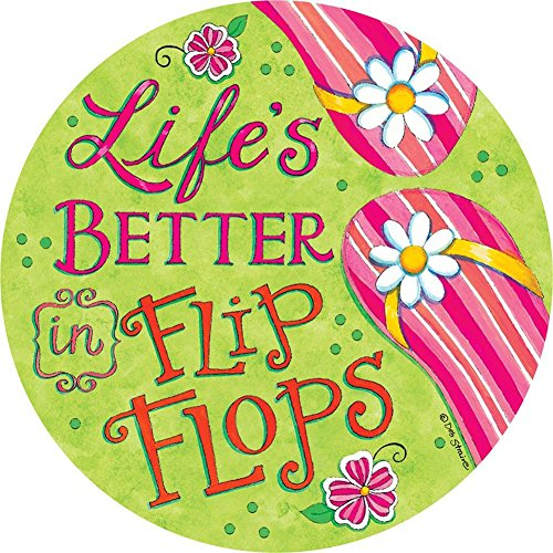 Signs Fun Cd - CD-2 Custom Decor Accent Magnet - Flip Flop Fun