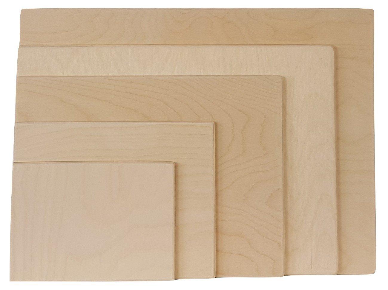 Tavola da disegno in legno per dipinti ad acquarello, adatta all' applicazione di fogli per dipinti ad acquarello, A3 A4 A5, A2 The Natural Workshop