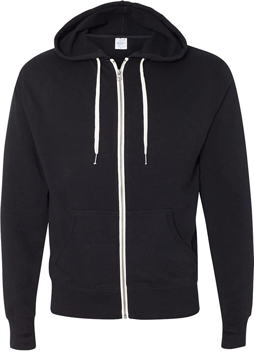 Black Independent Trading Co Mens Trading Co French Terry Sweatshirt