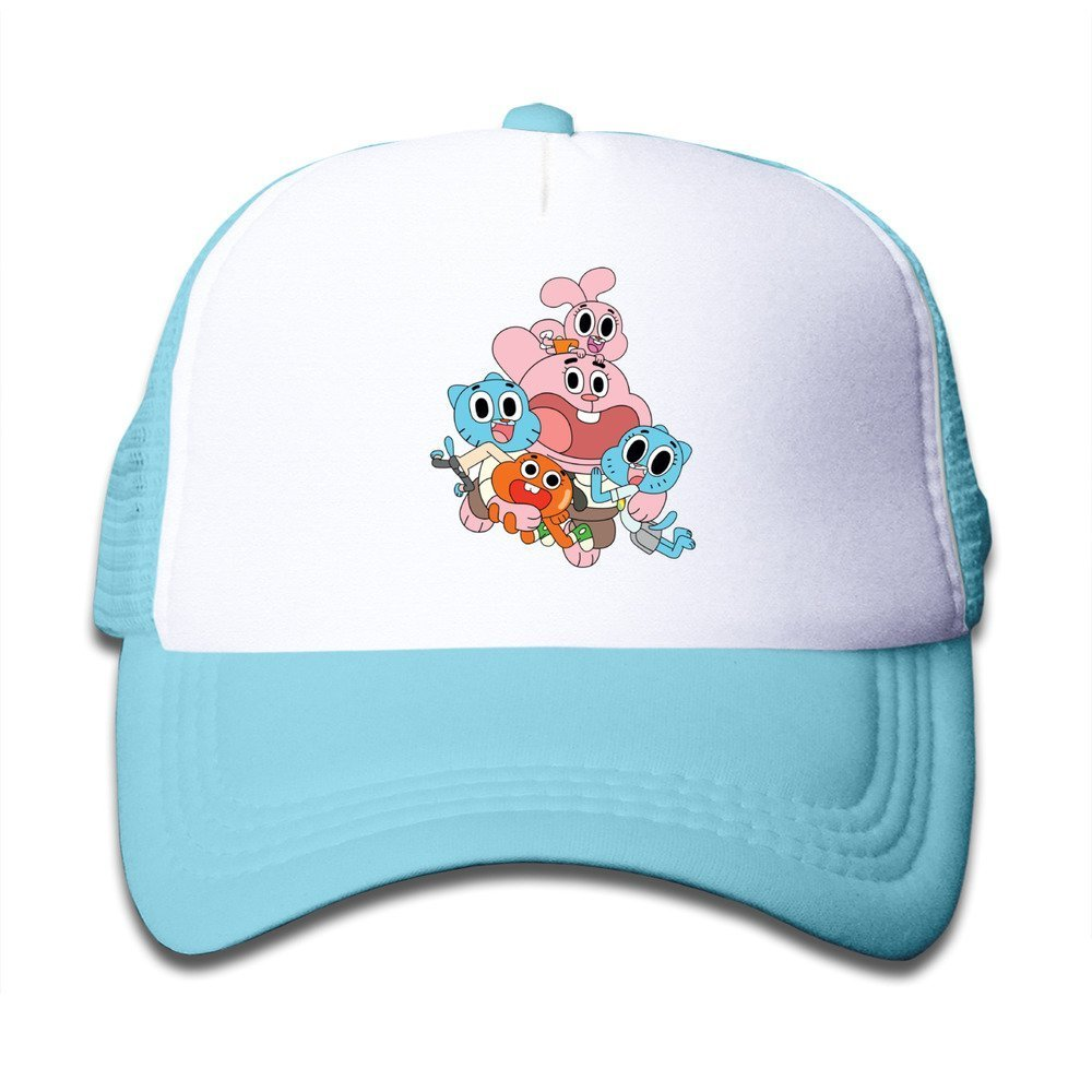 XCarmen Personalized The Amazing World of Gumball kid/â /€ TMS Hats Rosa Skyblue