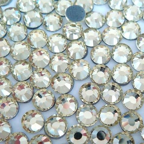 NEW ThreadNanny CZECH Quality 2gross (288 pcs) HotFix Rhinestones Crystals - 6mm/30ss, Crystal / Clear - 30ss Swarovski Rhinestones