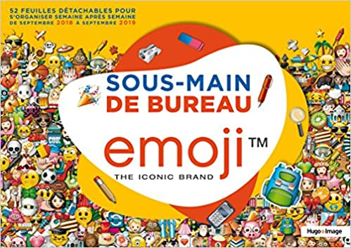 Sous Main De Bureau Emoji 9782755637410 Amazon Com Books