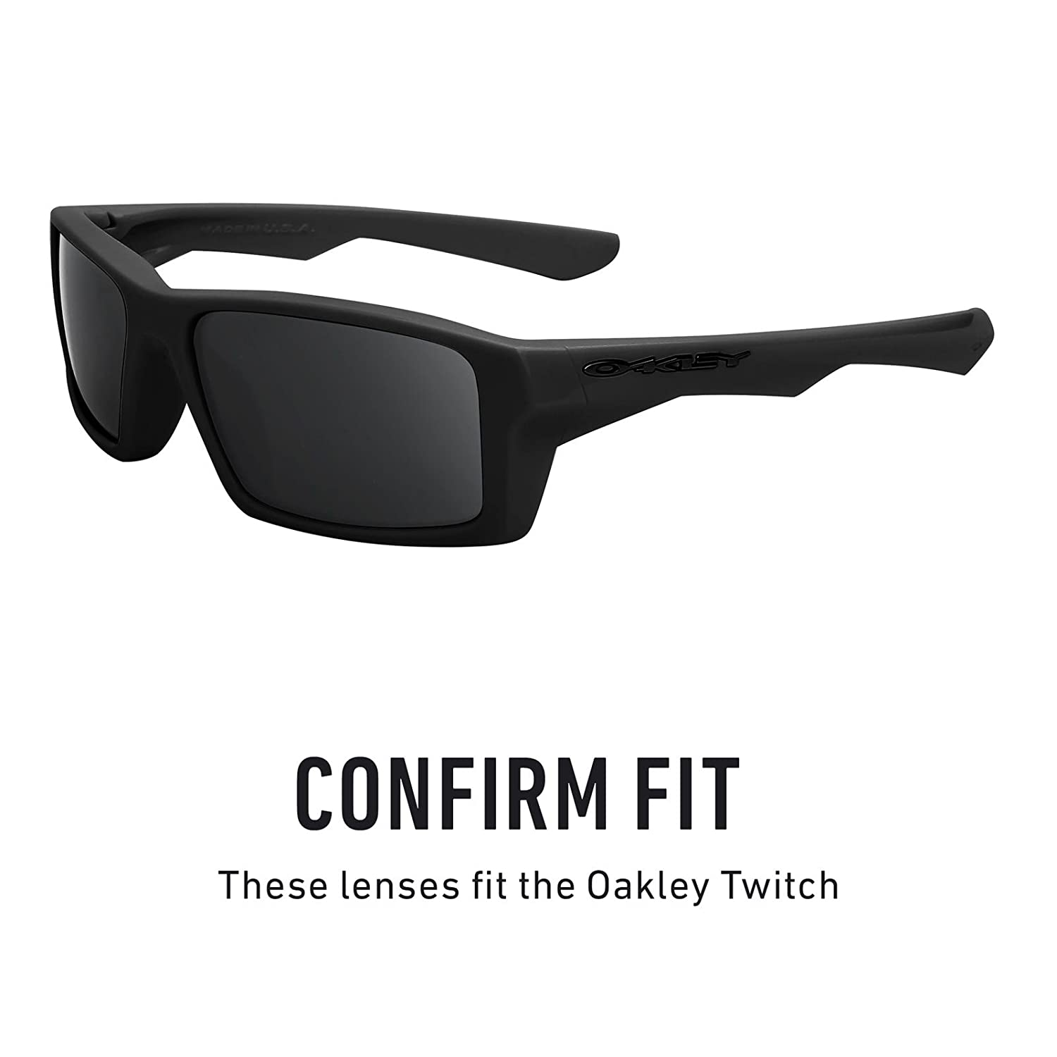 Revant Lenses Replacement For Oakley Twitch ZiPuOXk