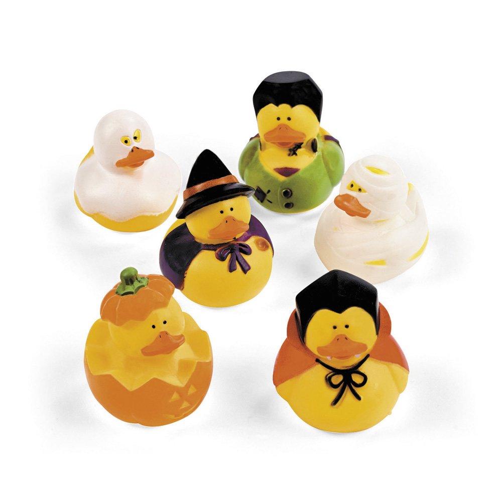 Halloween Rubber Duckies - Toys - 12 per Pack FUN365