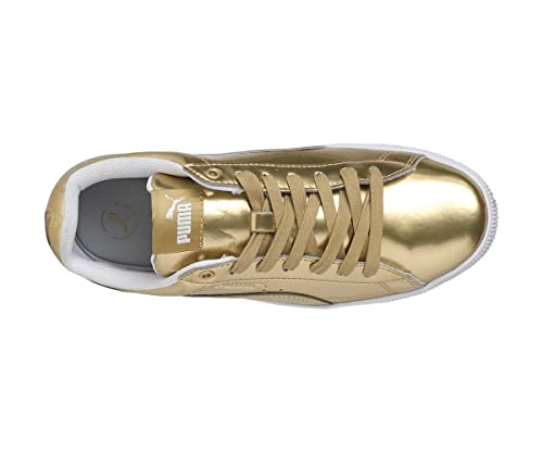 2477e461abc Puma Women s Vikky Platform LX Team Gold-Pu Sneakers-7 UK India(40.5 EU)  (4059506501876)  Buy Online at Low Prices in India - Amazon.in