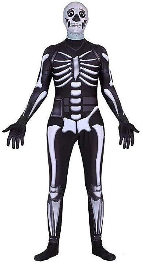 Amazon.com: Ainiel Skull Trooper Skin Bodysuit Disfraz ...