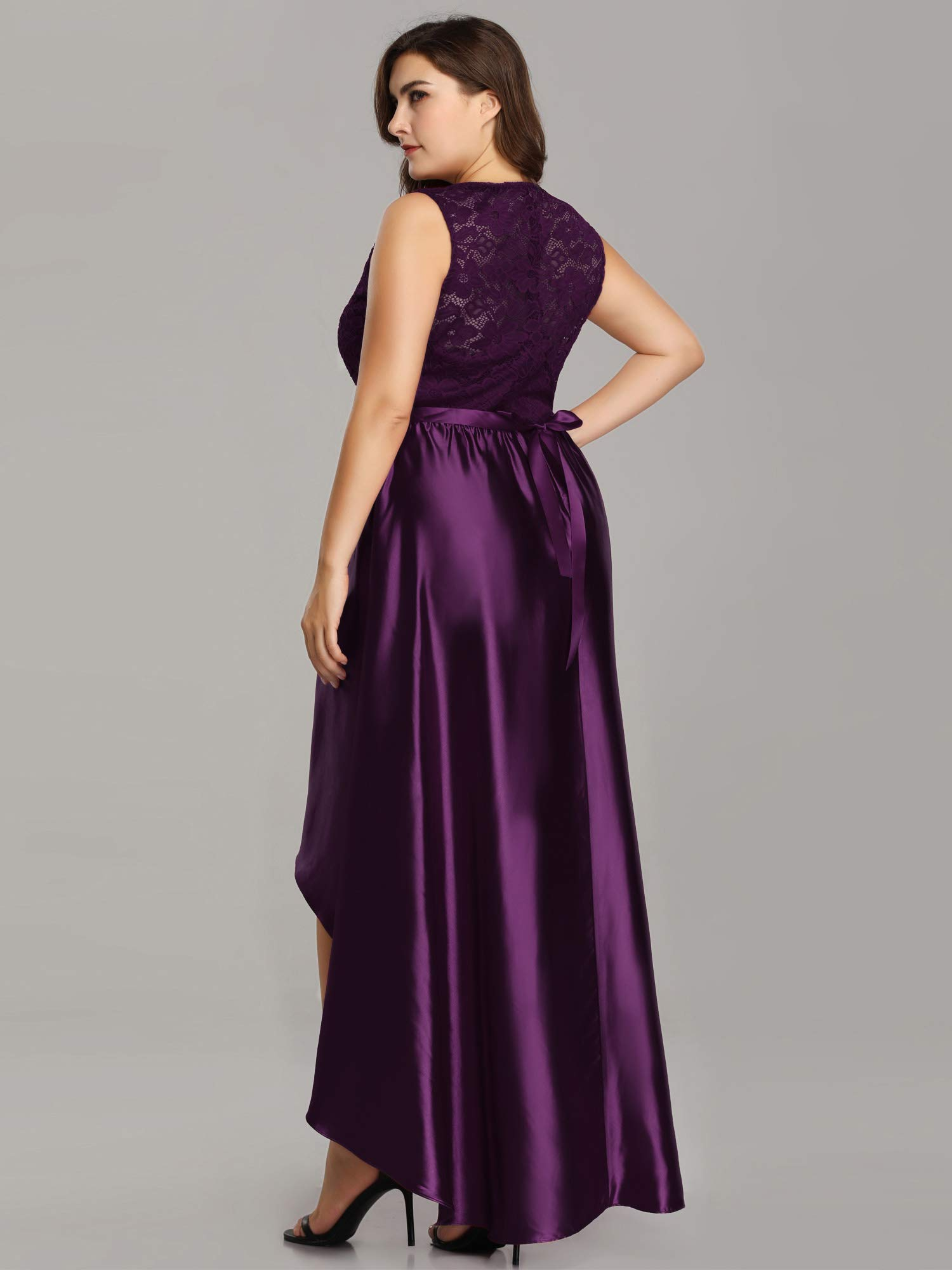 APC Ever-Pretty Women's Plus Size Floral Lace Patchwork ...