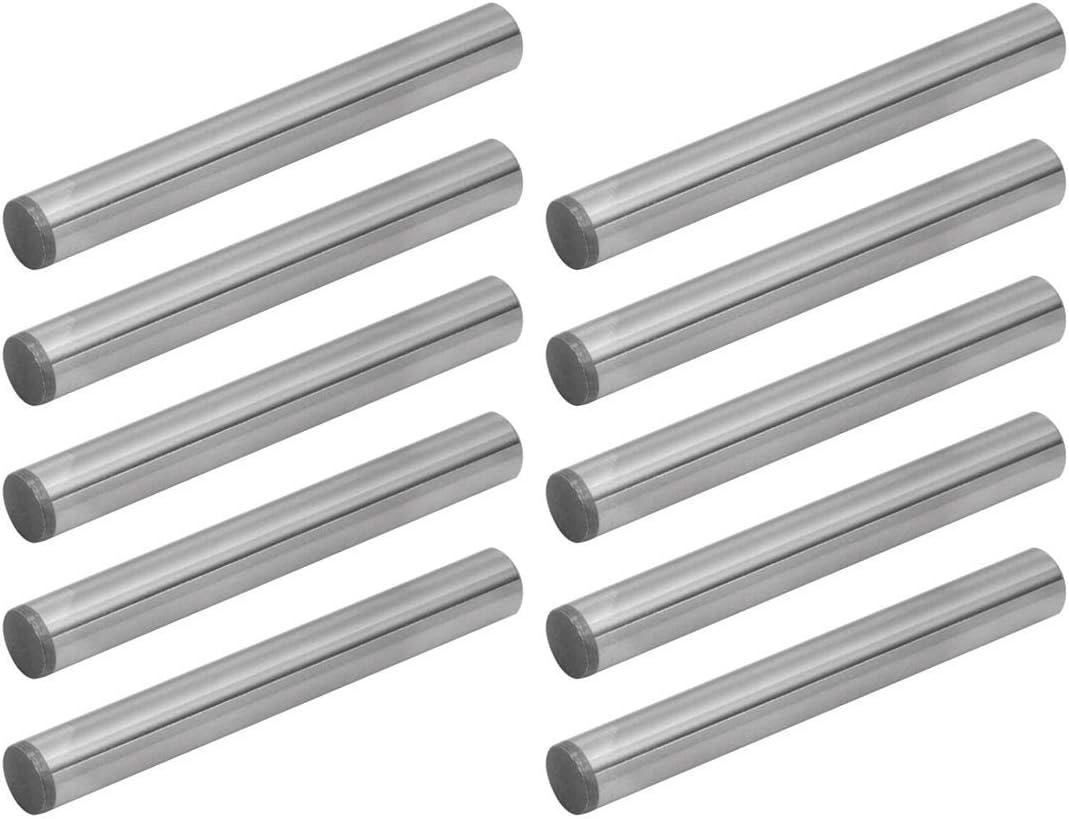 M3 Diameter x 14 mm Length 50 Pcs 18-8 Stainless Steel Dowel Pin