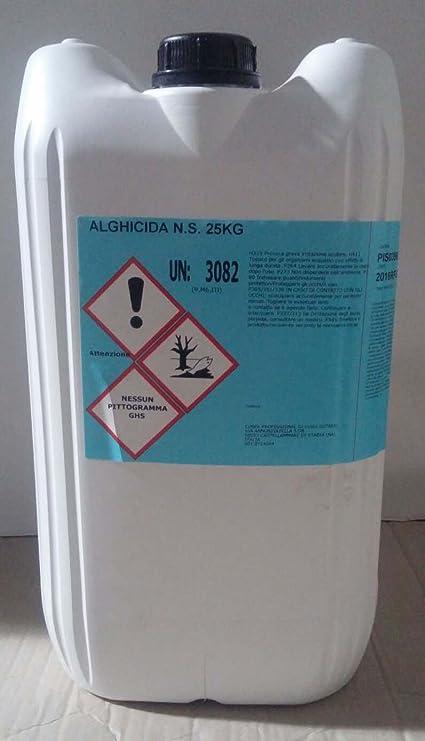 cubex professional Antialghe Non schiumogeno per Pulizia Acqua Piscina  alghicida kg 25 b414508b25c0