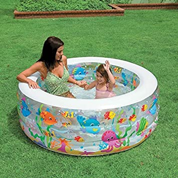 Buy Generic Intex Inflatable Kids Swimming Pool For Kids In Round Shape 58480 Online At Low Prices In India Amazon In