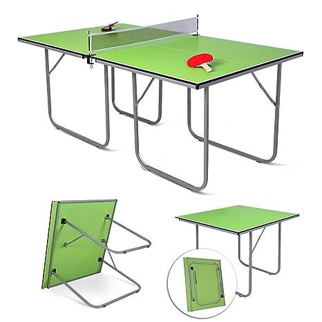 hj Tavolo Pieghevole da Ping Pong per bambino Colore Verde, 181 x ...