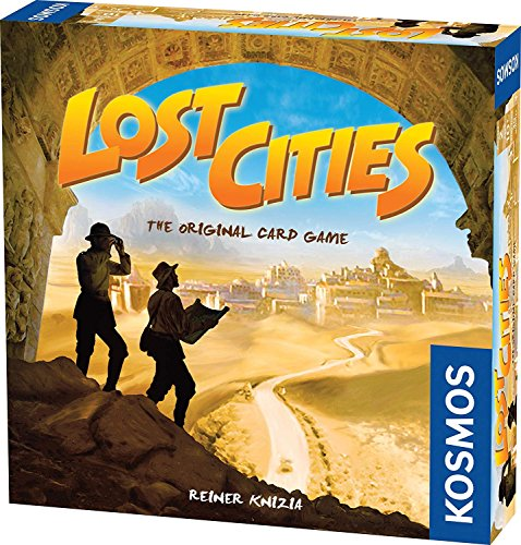 Price comparison product image Lost Cities - The Card Game (Premium pack)