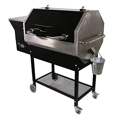 Rec Teq Grills | RT-590 | Bundle | WiFi Enabled | Portable Wood Pellet Grill | Built in Meat Probes | Stainless Steel | 30lb Hopper | 4 Year Warranty | Hotflash Ceramic Ignition System