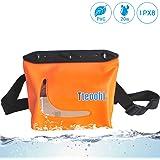 Mercs Tteoobl 防水バッグ 100%完全防水 軽量 Sサイズ ウエストバッグ 防水保護等級IPX8 海水浴 川遊び プール トラベル アウトドア 防災 必需品