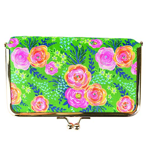 Mary Square Snap Pill Case Madison, Floral