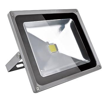 Greenmigo Foco Proyector LED 50W Para Exteriores,Blanco Frio 6500K ...