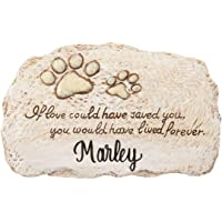 Fox Valley Traders Personalized Forever Pet Memorial, Customized Indoor/Outdoor Resin…