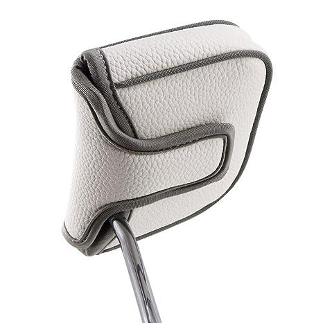 Big dientes cuadrados de golf talón eje Putter de Golf, de ...