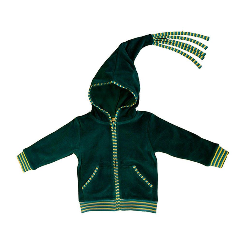 Leela Cotton Baby/Kinder Nicky Kapuzenjacke Scandinavia aus reiner Bio Baumwolle 2233 SC