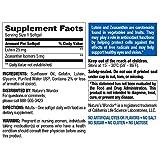 Nature's Wonder Lutein 25 mg Zeaxanthin 5 mg Soft