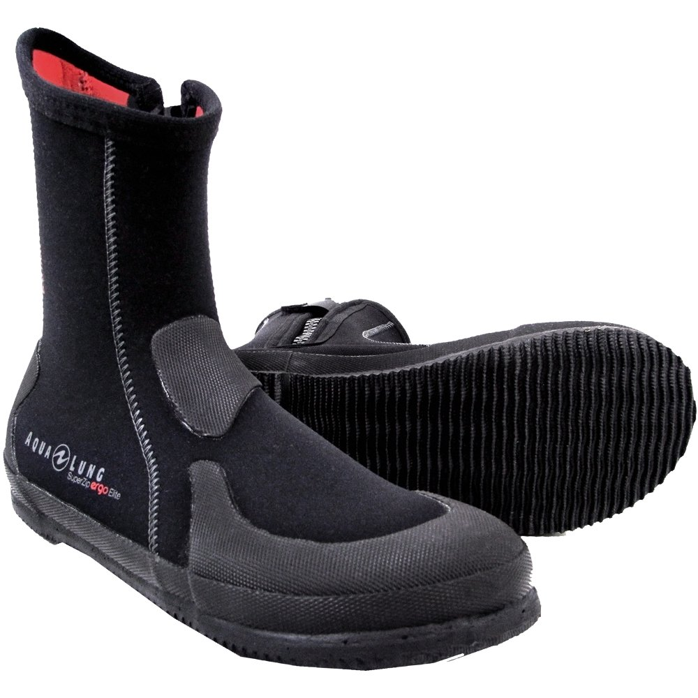 Aqua Lung 5mm Superzip Elite Boot B00TMW3N7E 9|Black