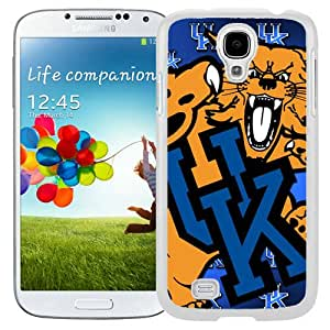 Hot Sale And Popular Samsung Galaxy S4 I9500 Case Designed With Southeastern Conference SEC Football Kentucky Wildcats 1 White Samsung Galaxy S4 Phone Case