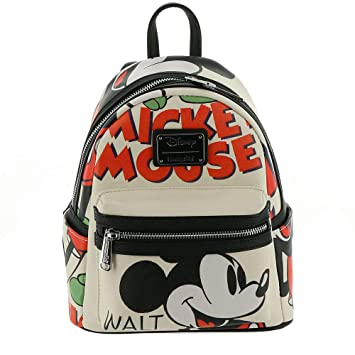 a7215d62661 Image Unavailable. Image not available for. Color  Loungefly Mickey Mouse  Classic Mini Backpack