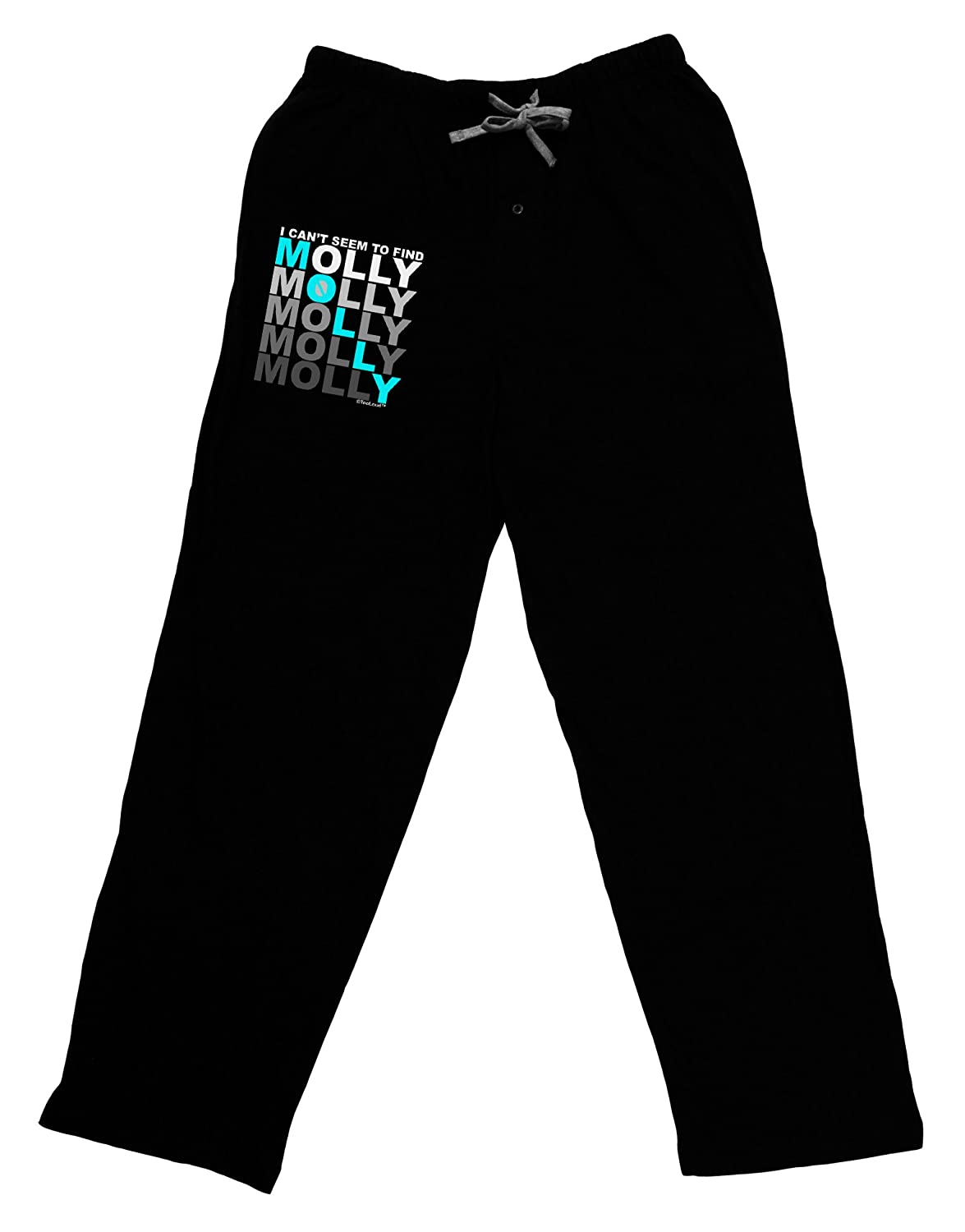TooLoud Find Molly Blue Adult Lounge Pants