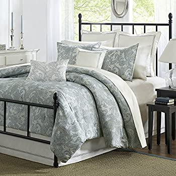 Amazoncom Comforter Set BlueKing Kitchen Dining - Blue solid color king size comforter