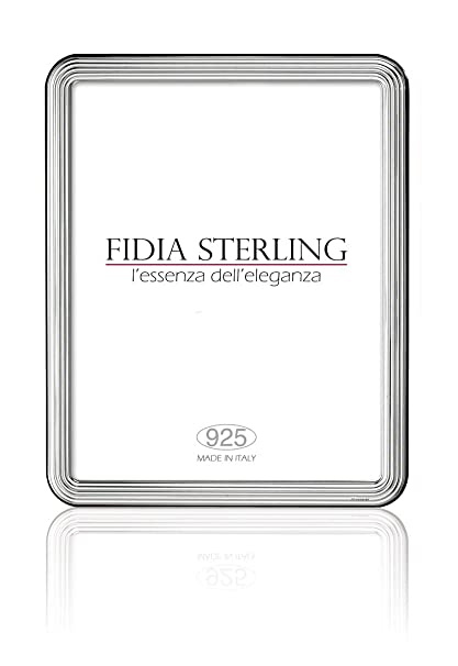 Amazon Exquisite 925 Sterling Silver Picture Frame 8 X 10