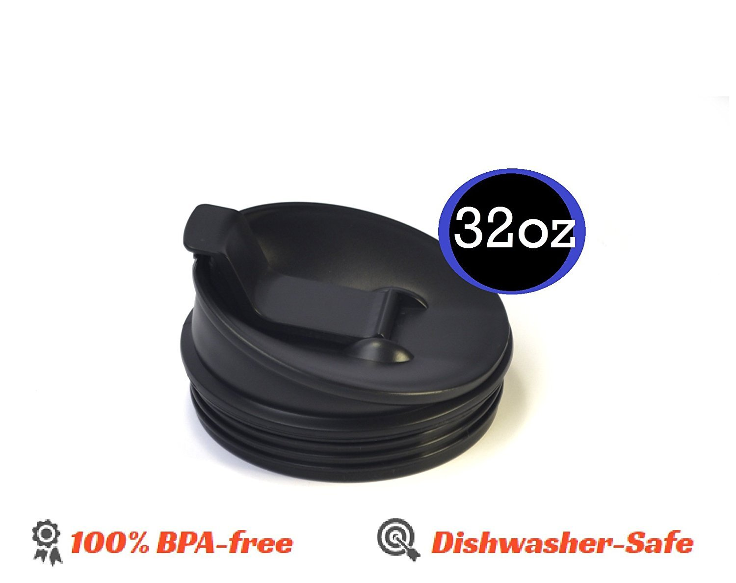 32OZ Large Multi-Serve Cup with Sip And Seal Lid replacement part for Nutri NutriNinja Auto iQ by Enbizio (Image #3)