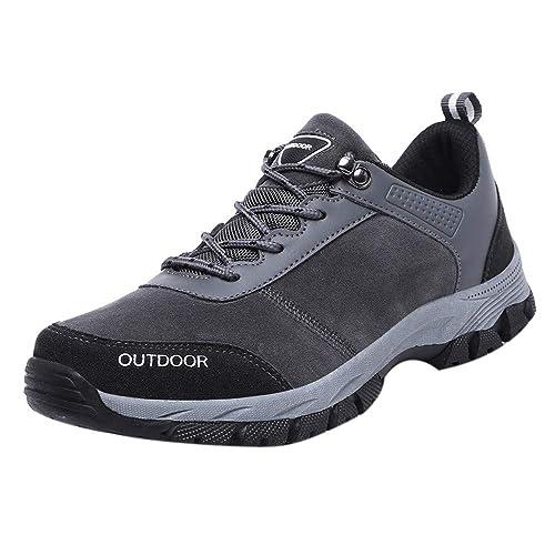 Moda Zapatillas para Hombre, Btruely Herren zapatos Hombre 2018 Senderismo Antideslizantes Flock al Aire Libre Zapatillas de Viaje: Amazon.es: Zapatos y ...