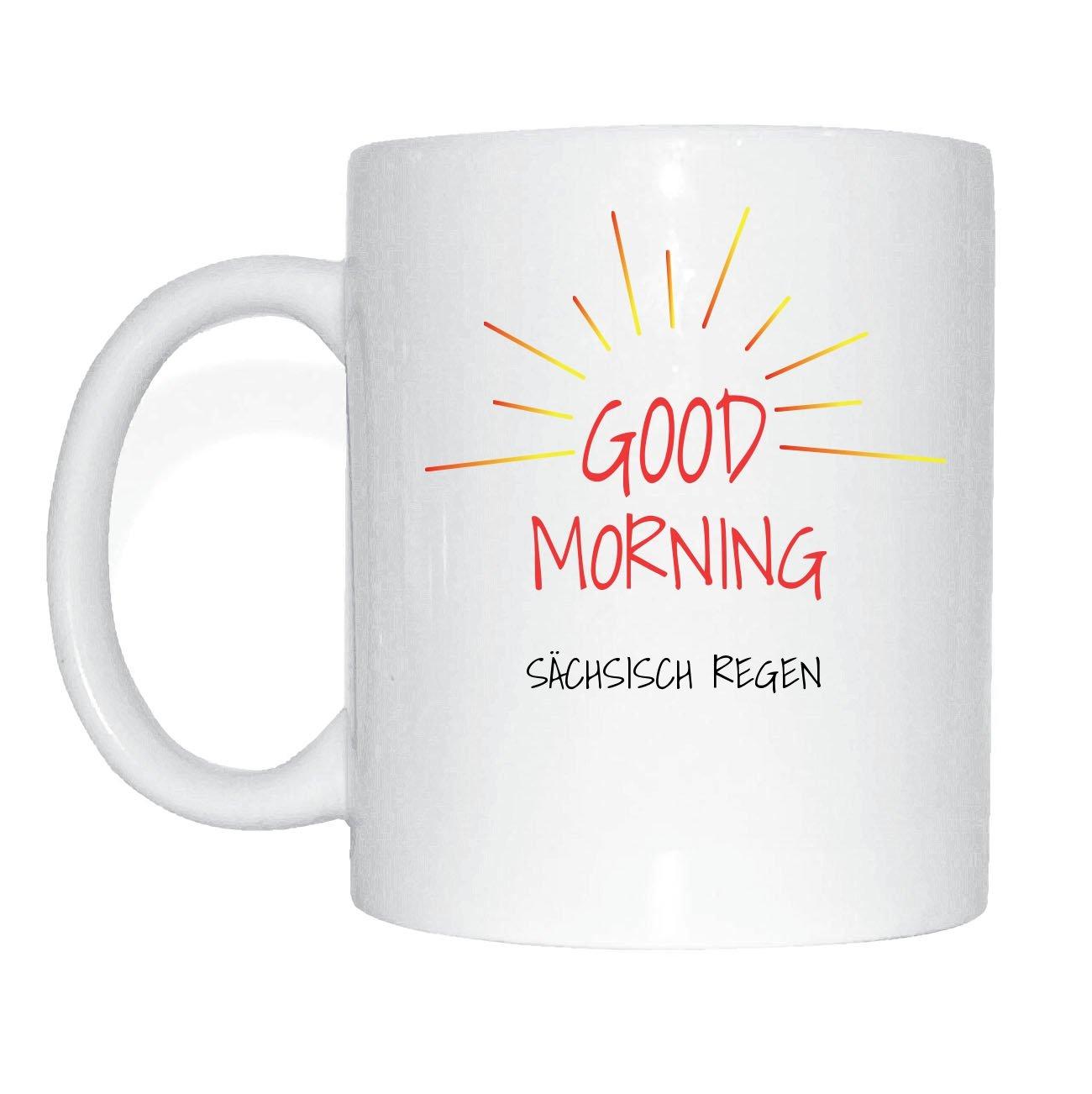 Amazonde Jollify Sächsisch Regen Kaffeetasse Tasse Becher