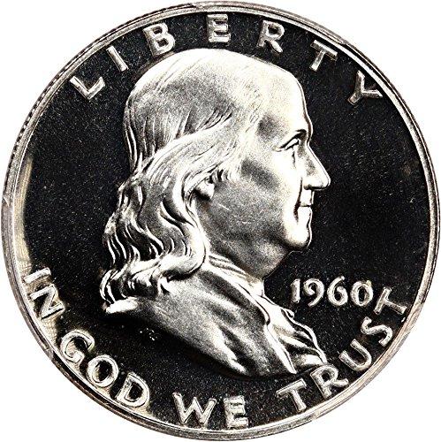 1960 P Franklin Halves (Proof) Half Dollar PR64 PCGS