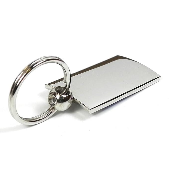 Nissan Altima Black Brushed Metal Spinner Key Chain