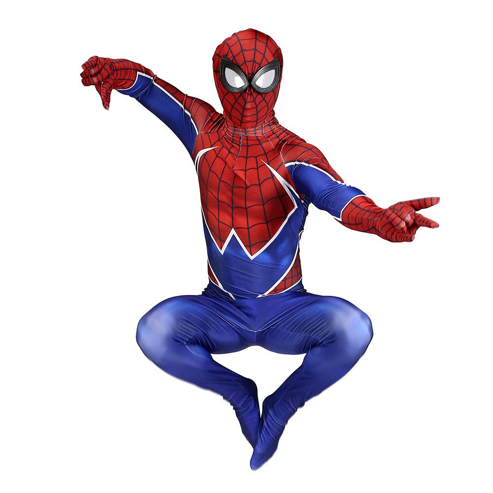 DSFGHE Rock Spider Uomo Collant Cosplay Costume Collant Lycra Halloween Performance Party Costume Puntelli,S