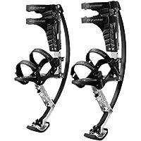 Skyrunner Kinderen/Jeugd Kangoeroe Schoenen Jumping Stilts Lente Pogo Schoenen Fitness Oefening (Zwart, Laadbereik-20…