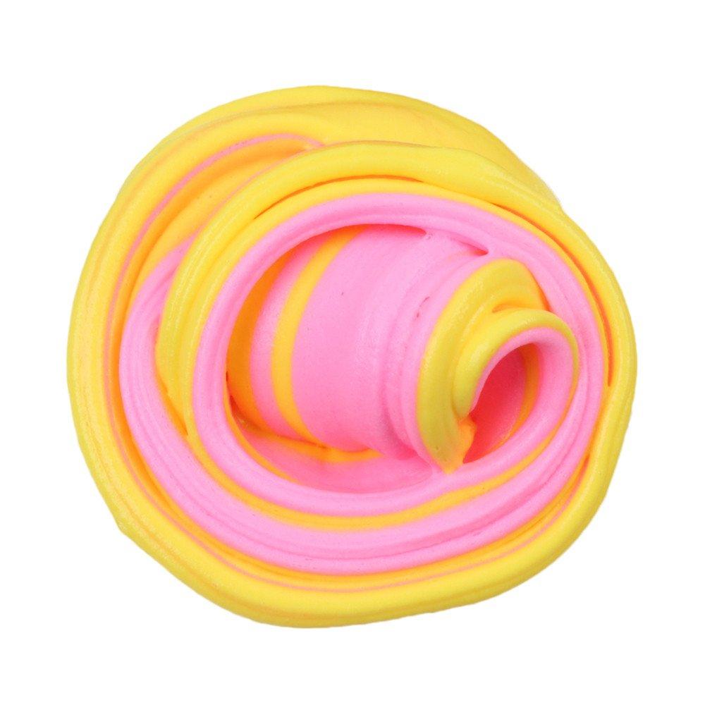 TIMEMEAN Giocattolo dell'argilla dei bambini di sforzo di colore della melma della nuvola di colore bello melma