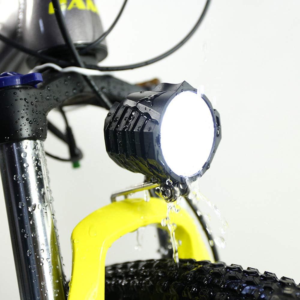 Sheng mi lo 36v48v Bicicleta eléctrica de montaña con luz LED para ...