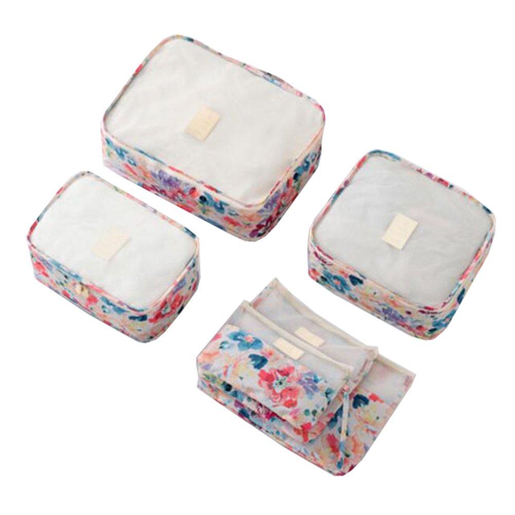 ジョージジミー旅行EssentialストレージバッグパッキングバッグCosmetic Bag set-a2 B073W9W674