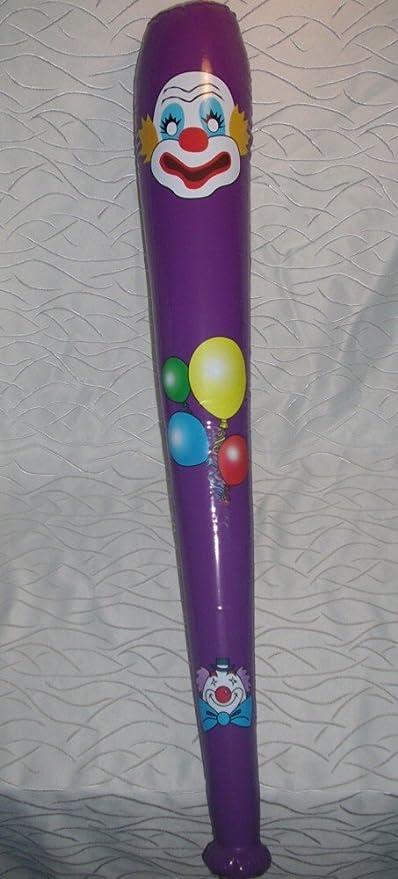 1 bate de béisbol bate club de payaso inflable 103 cm GRO ...