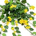 36in-Artificial-Bougainvillea-yellow-fire-Retardant
