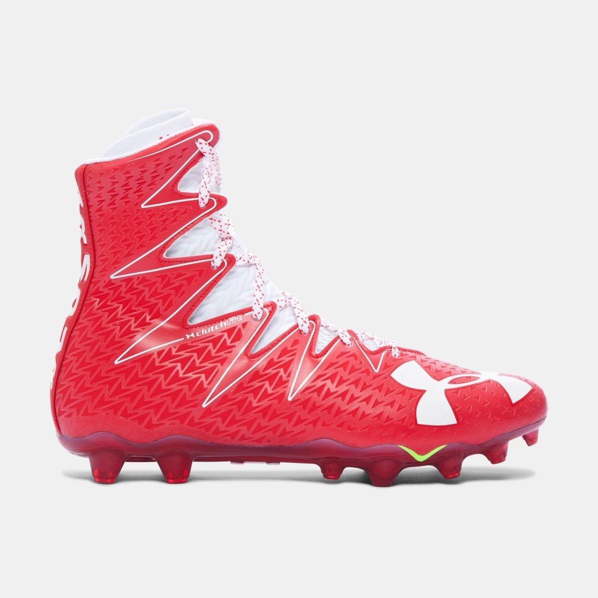 [アンダーアーマー] メンズ UA Highlight MC Football Cleats [並行輸入品] B074WQPBB4 レッド 30.0 cm