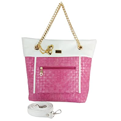 d9e566135b I Define You Trending PINK WHITE Color Party Wear Handbag   Sling bag For  Girls and Women s  Amazon.in  Shoes   Handbags