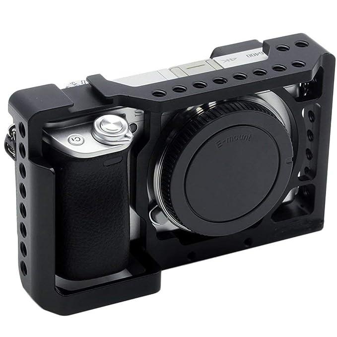 uleileidega Jaula cámara Estable para Sony A6400 / A6000 / A6300 ...