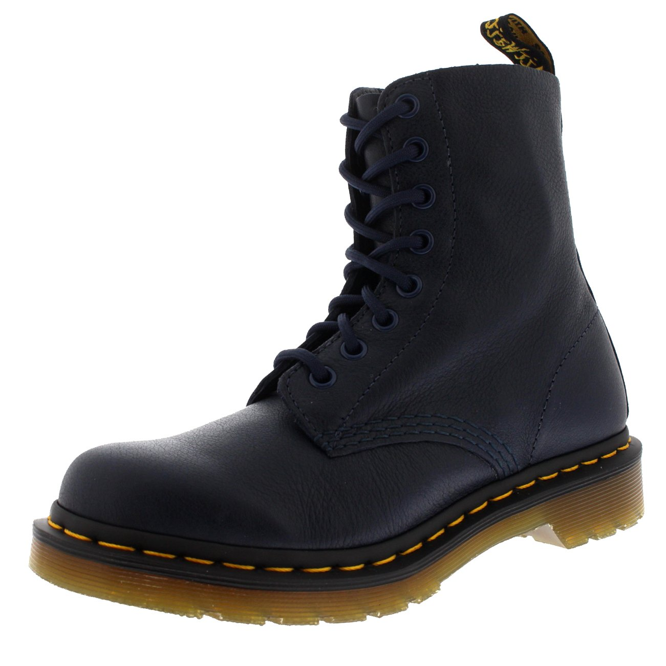 Dr. Martens Women's Pascal Combat Boot, Dress Blues, 9 UK/11 B US