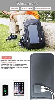 Mochila con cargador solar - Burglar Business Bag Mochila con ...