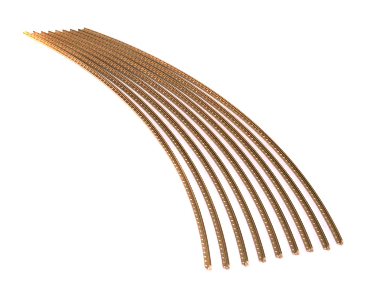 Guitar Fret Wire - Jescar WIDE-MEDIUM (47104) Gold EVO - Six Feet 4334244488