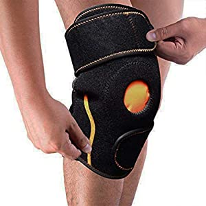 WORLD-BIO Knee Ice Pack Wrap, Reusable Hot & Cold Therapy Gel Pack Knee Support Brace for Knee Replacement Surgery, Bursitis Injuries Pain, Rheumatoid Arthritis, Meniscus Tear, Sprains & Swelling
