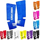 Combat Sports Ankle Support Wraps Muay Thai MMA Ankle Support Wraps, Orange, One Size